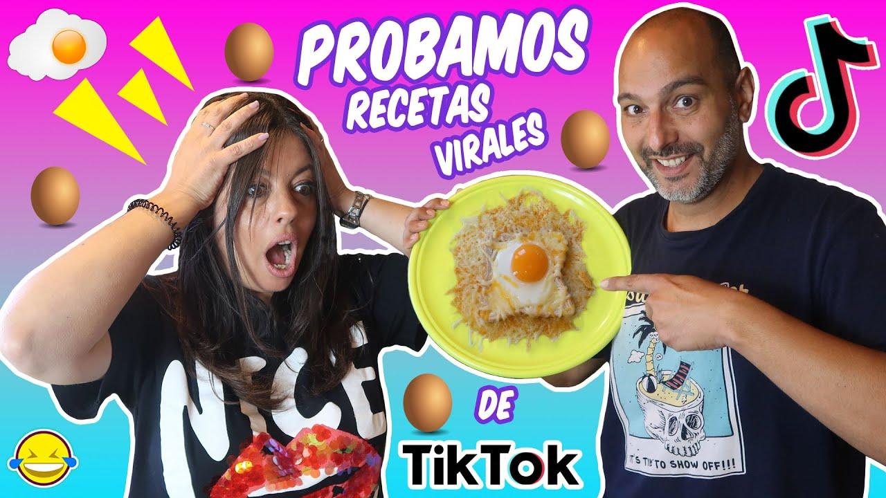 🍳 PROBANDO LIFE HACKS VIRALES DE TIK TOK 🥚 (Comida Viral ) Jordi y Bego Momentos Divertidos