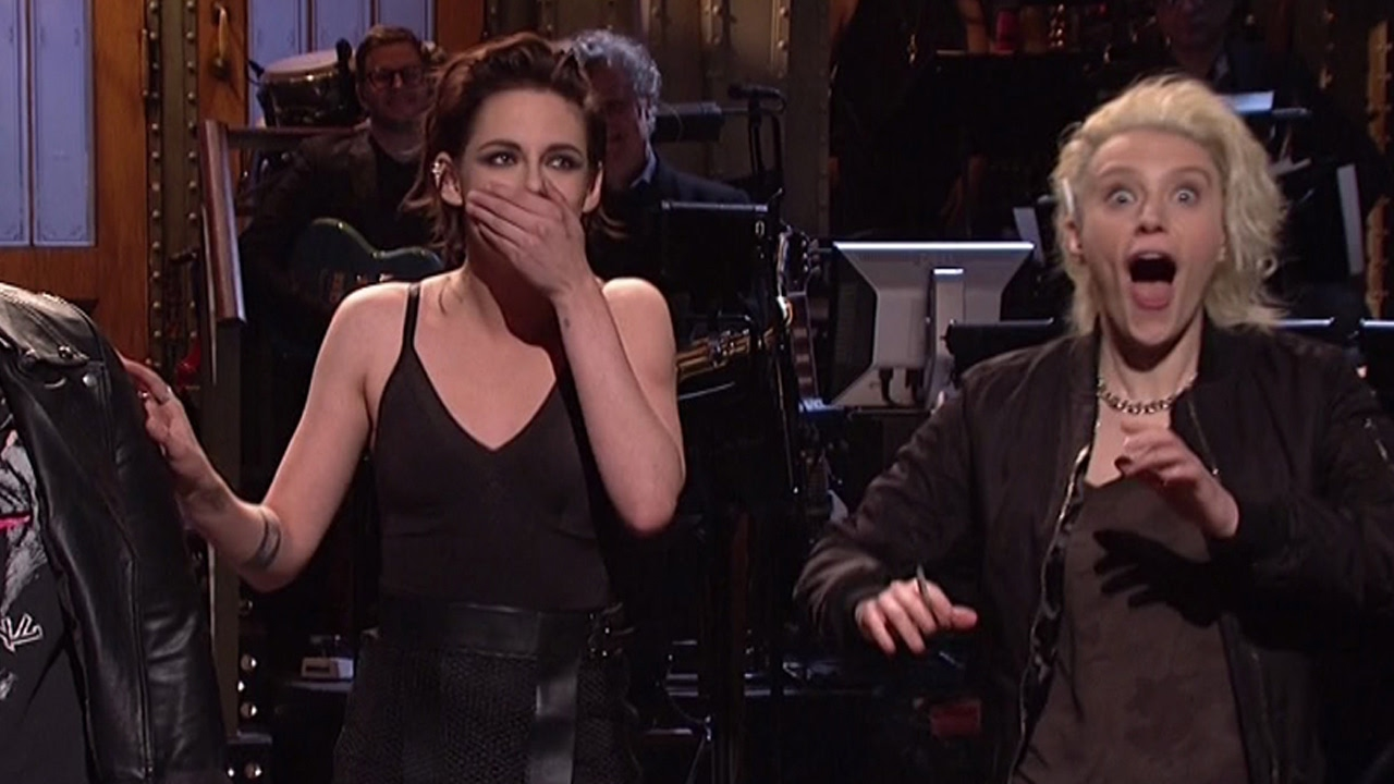 snl video kristen stewart gay