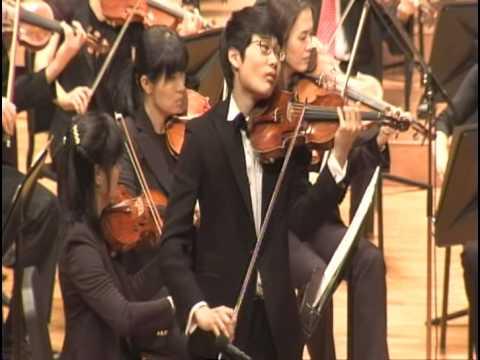 N.Paganini Violin Concerto No.1 1st mov. part 1/3. - In Mo Yang ...