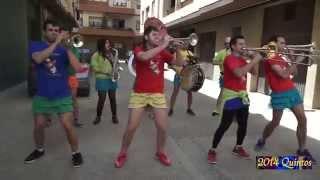 Quintos 2014 junior en Cadreita. Artistas del Gremio Jueves 1 mayo, parte 1