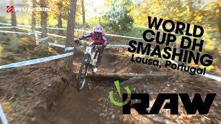 BEST CONDITIONS EVER! World Cup DOWNHILL MTB - Vital RAW - Lousa, Portugal