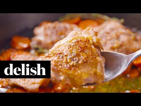 Maple Chicken & Carrots | Delish