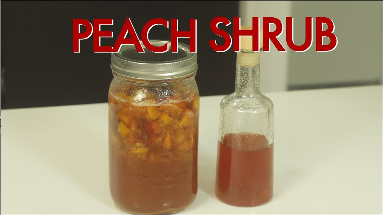 How to make a peach shrub drinks made easy youtube for Easy to make drinks
