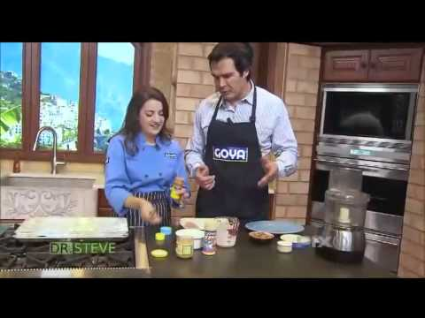 DR. STEVE - Healthy Goya Meals with Chef Carey