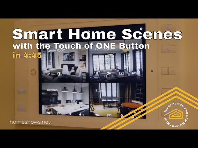 Control Your Home | Setting Your Smart Home Scene