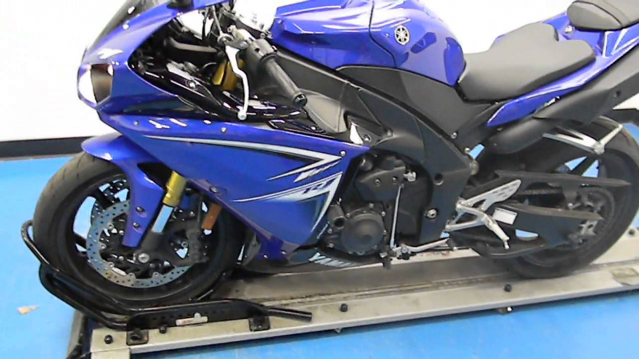 yamaha r1 blue bike - photo #33