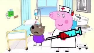 Новая  серия про Свинку Пеппу. В школу пришла..Peppa Pig 2016