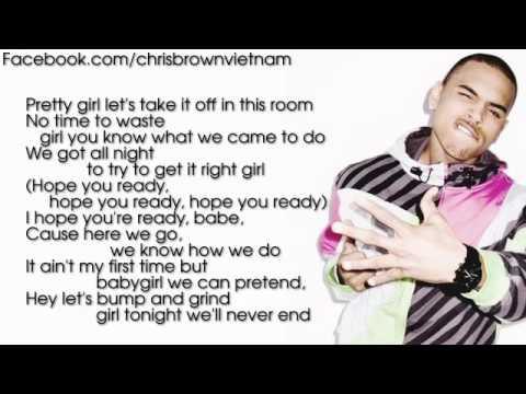 Chris Brown - Take You Down [Lyrics Video]