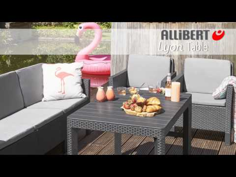 Allibert Lyon table assembly video