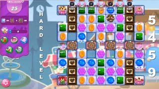 Candy Crush Saga 5459   |   HARD LEVEL   |   1-Star ⭐  |   TIPS On How To Complete The Level
