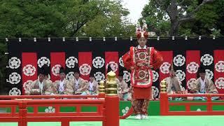 陵王、雅楽、traditional japanese music、gagaku、美し国、三重、桑名、六華苑、2018春の舞楽会、多度雅楽会、時間16分20秒