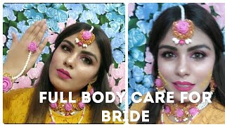 Body polishing at home||special body care for indian bride||trendystlyelooks