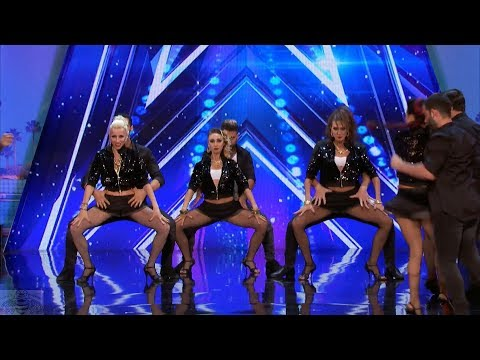 America's Got Talent 2017 German Cornejo Dance Company Full Audition S12E06