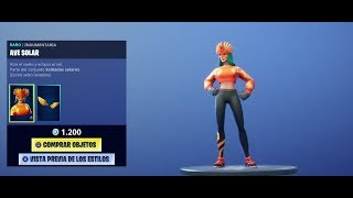 🔴*NEW SKIN AVE SOLAR*!!! - FORTNITE - DIRECT *!!! 🔴