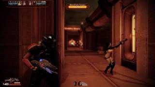 Mass Effect 2 PC Combat Gameplay Insanity Difficulty HD [1080p]
