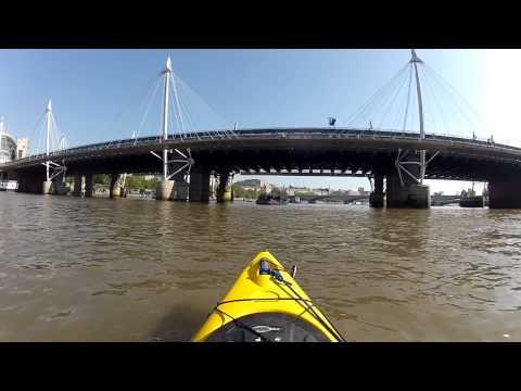 Kayaking Through Central London