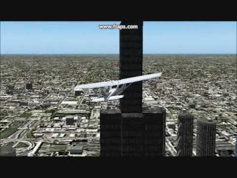 Flight Simulator 2004: Crashing With Mod - YouTube