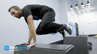 Obstacle Course and Movement Skill Training with MoveStrong GEO Floor Obstacles