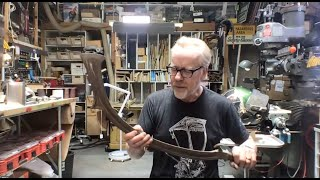 Live Q&A and Sword Prop Show and Tell with Adam Savage (June 23, 2020)