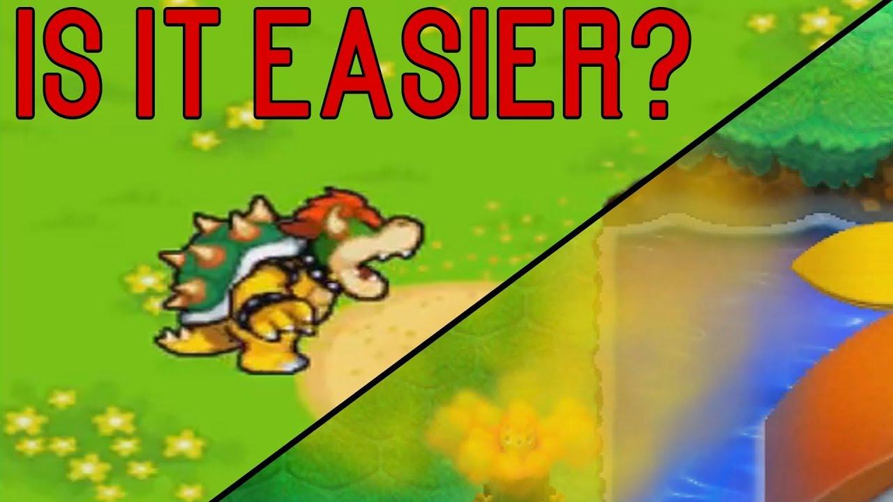 Mario Luigi Bowser S Inside Story 3ds Vs Ds Is The Pollen