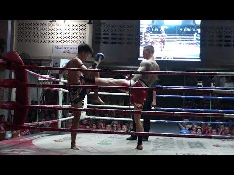 Kevin Foster (Tiger Muay Thai) vs Pet-ubon Saponkrabi @ Patong Stadium 15/2/16