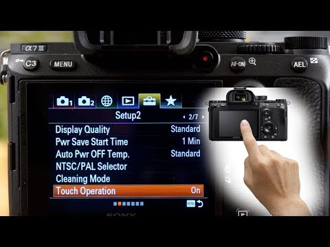 Touch screen Focus and Shoot on Sony A 7 III   TalkEmount