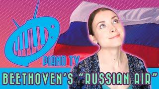 Piano Lesson #12: Beethoven – Russian Air, op 107 no 3 – piano tutorial