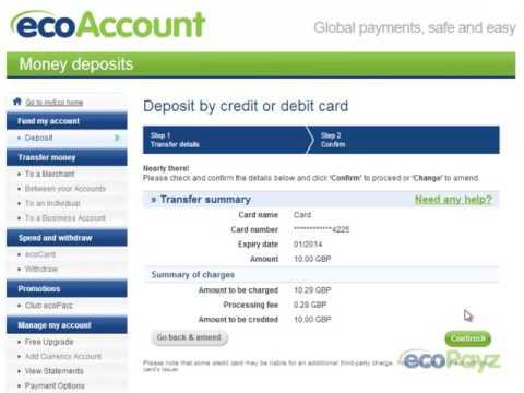 ecopayz bitcoin perkelkite btc į banko sąskaitą