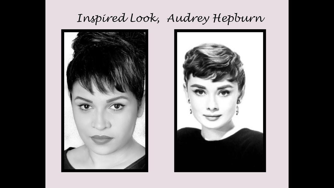 Fake Bangs Audrey Hepburn Inspired Look Youtube