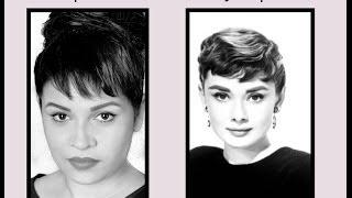 Fake Bangs - Audrey Hepburn Inspired look! Thumbnail