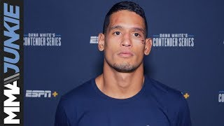 DWCS 18: Miguel Baeza post fight interview