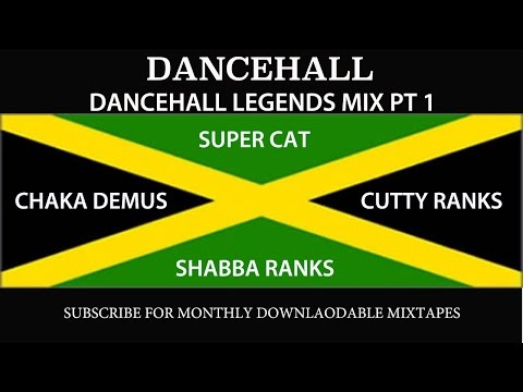 DANCEHALL LEGENDS MIX PT 1 - Super Cat, Shabba Ranks, Chaka Demus, Cutty Ranks