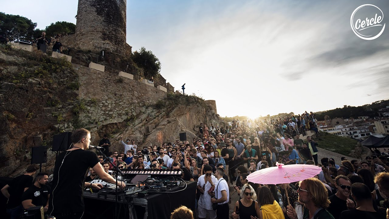Jan Blomqvist live at Tossa de Mar in Spain for Cercle