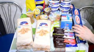 Распаковка посылки продукты из Польши rozpakowywania Produkty paczka z Polski #2