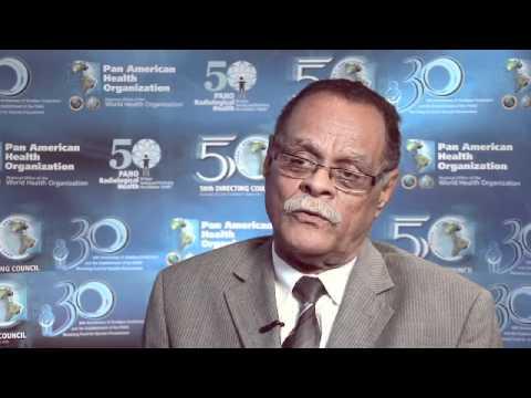 Entrevista al Dr. Alex Larsen Ministro de Salud de Haíti