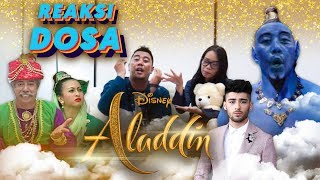 REAKSI DOSA - REACTION TRAILER FILM DISNEY'S ALADDIN 2019
