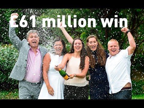 £61m EuroMillions jackpot winners go public