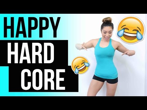 Happy HARD CORE Ab Workout