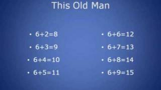 Addition Fact Songs
