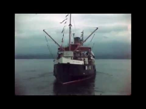 Taking the Union Steamship Lady Cynthia from Vancouver to Squamish in ca 1947