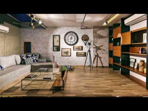 Multi-Purpose Studio on Terrace Doubles as a Relaxing hangout!