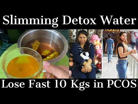 Winter Weight Loss Detox Water to Lose Weight Fast in PCOS/PCOD   Fat to Fab
