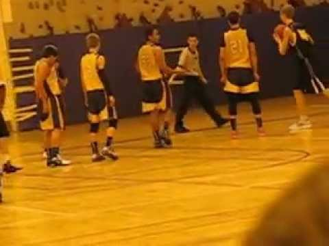 Khanian Charlton Glover Middle School 8th Grade Varsity Basketball (first game)