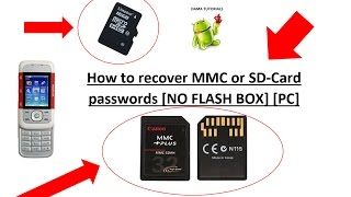 How to recover Nokia MMC/SD Card passwords [NO FLASH BOX; PC w/ Infinity Best/Nemesis Service Suite]