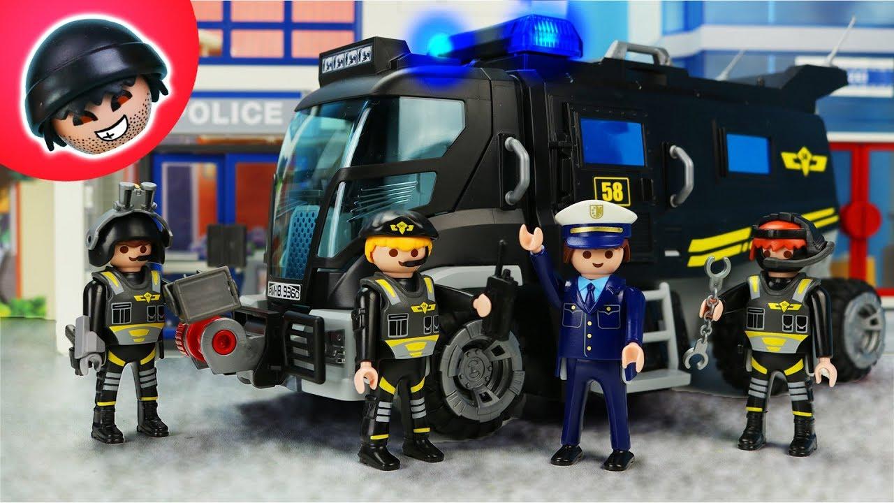 toni wechselt zum sek?! playmobil polizei film - karlchen