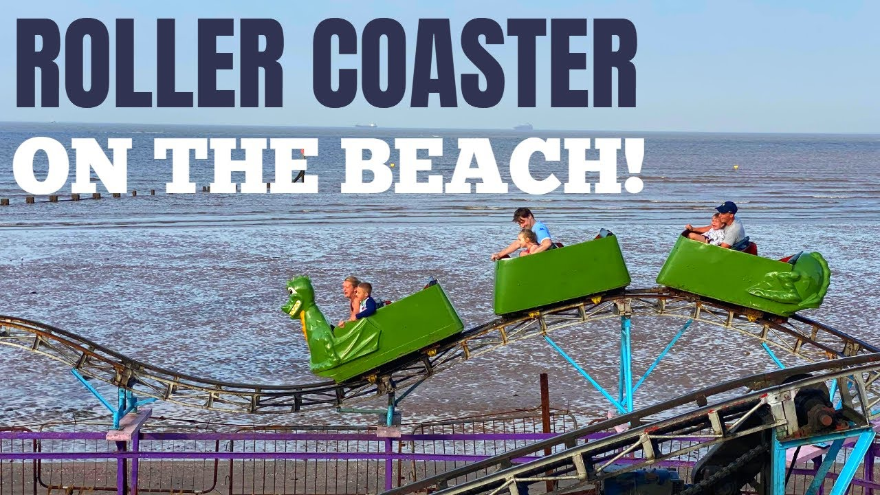 Roller Coaster On The Beach! Riding The Little Dipper In Cleethorpes