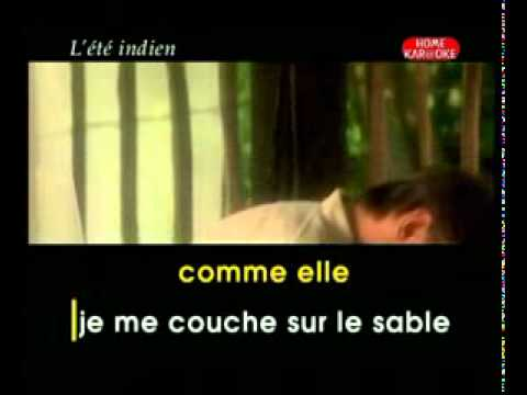 Joe Dassin   L'ete Indien karaoke