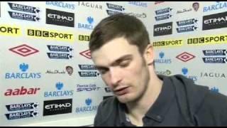 Adam Johnson interview after Man City vs Sunderland match
