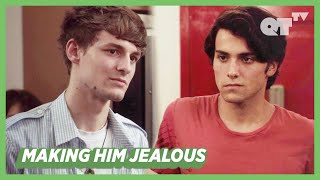 Making My Gay Crush Jealous By Flirting With Another Man | Gay Romance | Hunter