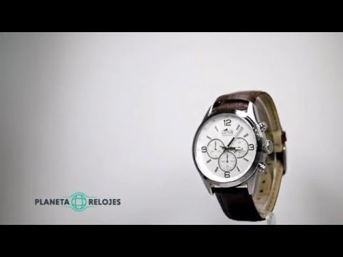 409f9f28eb0f Reloj Lotus 18155-1 - YouTube